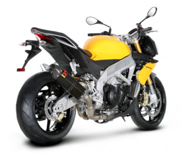 SLIP-ON-Linie 11-16, Aprilia Tuono V4, Carbon