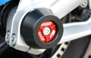 Achspad Vorderrad mit eloxierten Aluminium Inlay BMW S1000 R, 14-16