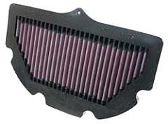 K&N Luftfilter, Suzuki GSX R 600, 06-10