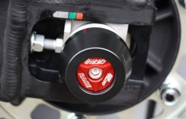 Achspad Hinterrad mit eloxierten Aluminium Inlay Honda CBR 1000 RR, 17 --