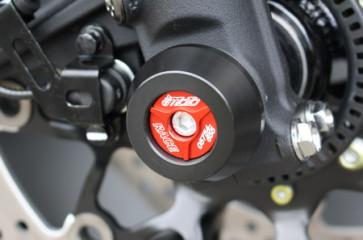 Achspad Vorderrad mit eloxierten Aluminium Inlay Honda CBR 1000 RR, 17 --