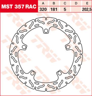 """Bremsscheiben, Vorderachse, Designscheibe """"Racing"""", BMW S1000 R, 14 --"""