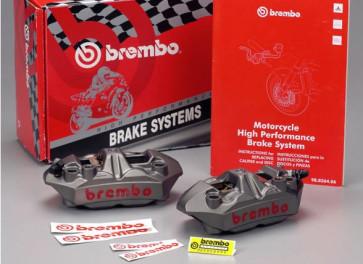 Brembo Radial M4 Monoblock Bremszangen Kit 108 mm, Suzuki GSXR 1000, 05-16