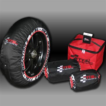 TTSL Reifenwärmer Light Dunlop spez., für Reifengröße 120/70-17 bis 200/60-17