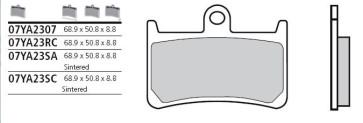 Bremsbelag Vorderachse, Sinter, Yamaha YZF R6, 04-16