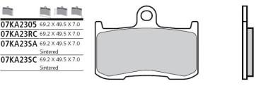 Bremsbelag Vorderachse, Standard, Kawasaki Z 800, 13 --