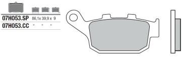 Bremsbelag Hinterachse, Standard, Kawasaki Z 800, 13 --