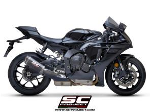 SC Project  SC1-M Schalldämpfer, Yamaha YZF R1, Bj. 17-19