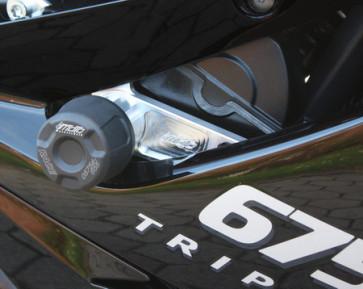 Sturzpad Satz Triumph Daytona 675, 06-12