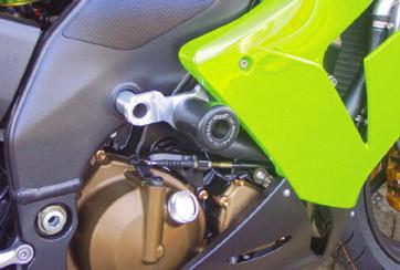 Sturzpad Satz Kawasaki ZX 10 R, 04-05