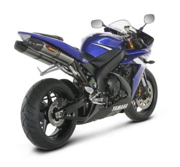 SLIP-ON-Linie 04-06, Yamaha YZF R1, 2004-2006, Titan