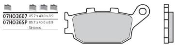 Bremsbelag Hinterachse, Standard, Yamaha FZ 8, 10 --