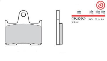 Bremsbelag Hinterachse, Sinter, Suzuki GSX R 1000, 12-16