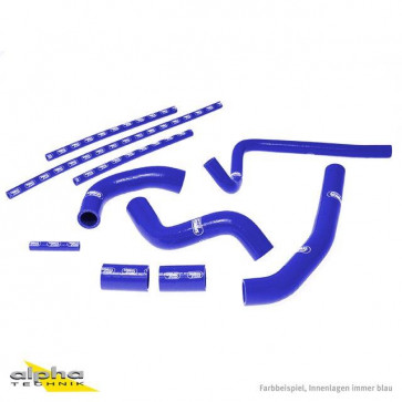 10-teiliges Kühlerschlauch-Kit, Yamaha YZF R1, 09-14