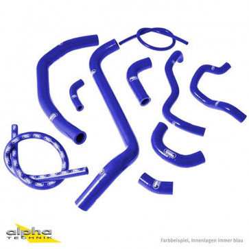 10-teiliges Kühlerschlauch-Kit, Honda CBR 600 RR, 03-04