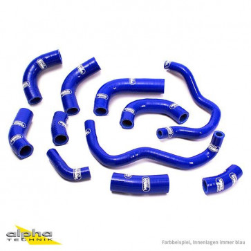 11-teiliges Kühlerschlauch-Kit, Honda CBR 600 RR, 05-06