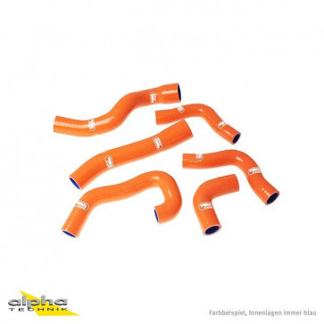 6-teiliges Kühlerschlauch-Kit, KTM RC 8 R, 09-15