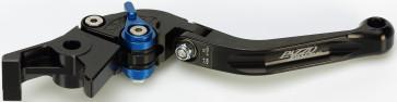 Kupplungshebel/Bremshebel, Yamaha R6, 05, Bremsadapter R-104, Kupplungsadapter Y-688, Klappbar, Lang, Eloxiert
