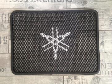 Set Kühlergitter mit Logo, Yamaha R6, 06 --