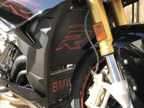 Set Kühlergitter mit Logo, BMW S1000 R, 14 --