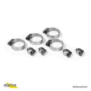 Schlauchschellen-Kit Racing 5 tlg., Aprilia RSV 4, 09 --
