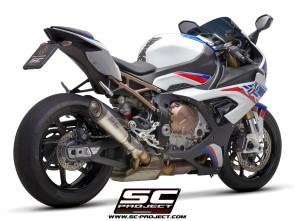 SC Project S1 Schalldämpfer, BMW S1000 RR 20-21 Euro 5